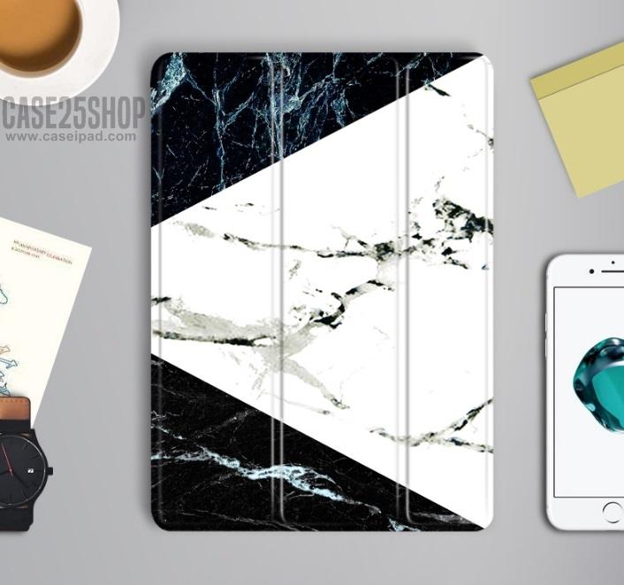"Marble Texture - เคสไอแพด 2018 (9.7"")"