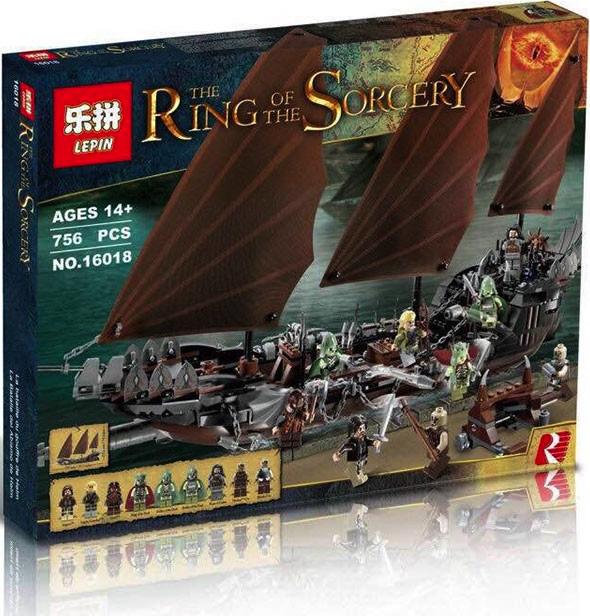 เลโก้จีน LEPIN 16018 ชุด Pirate Ship Ambush