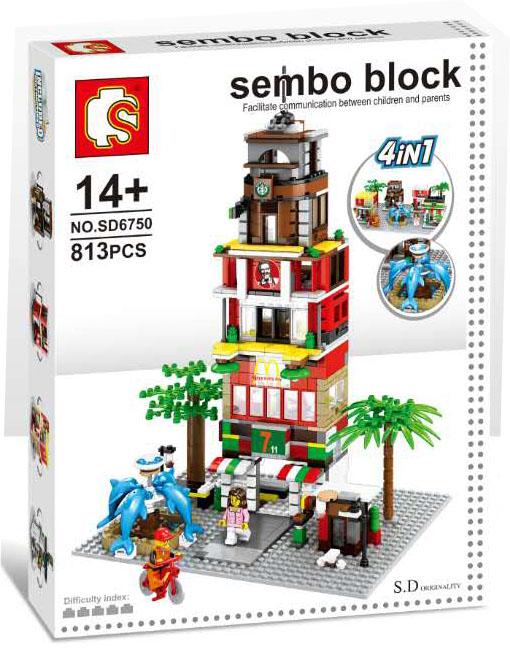 Sembo Block SD6750 : Ministreet 4 IN 1
