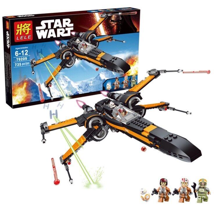 เลโก้จีน LELE 79209 ★ Poe's X-Wing Fighter