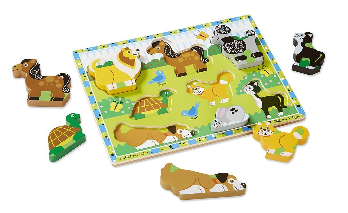 จิ๊กซอชิ้นใหญ่ Pets Chunky Puzzle