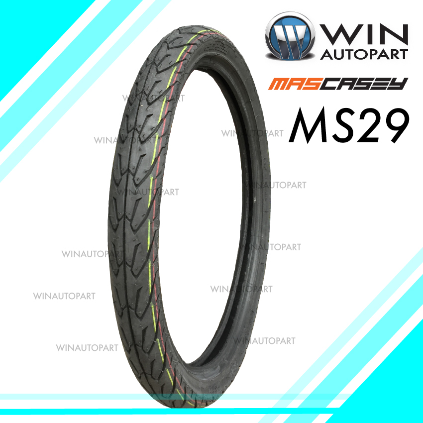 60/95-17 T/T ยี่ห้อ MASCASEY รุ่น MS29 ยางมอเตอร์ไซค์ WINAUTOPART สำหรับ SMASH 2017 , WAVE 100, WAVE 125 , SMASH REVOLUTION , SMART 04 , SHOGUN 125 , DREAM 125 , SPARK NANO , GD110 HU, RAIDER 150 R FL , SMASH FI , WAVE 110i , AT WAVE 110i , DREAM 110i ,
