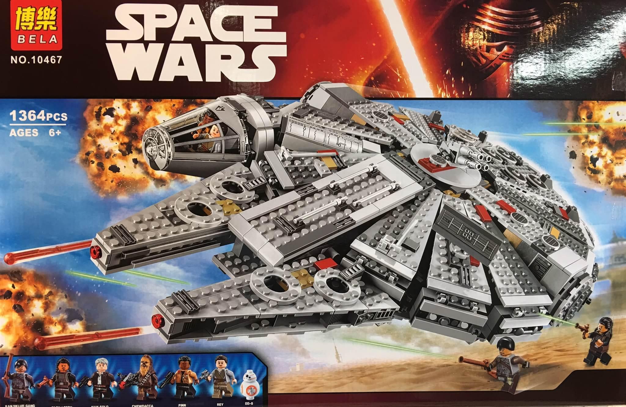 เลโก้จีน BELA 10467 ชุด Millennium Falcon