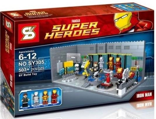 เลโก้จีน SY 305 ชุด Ironman Lab