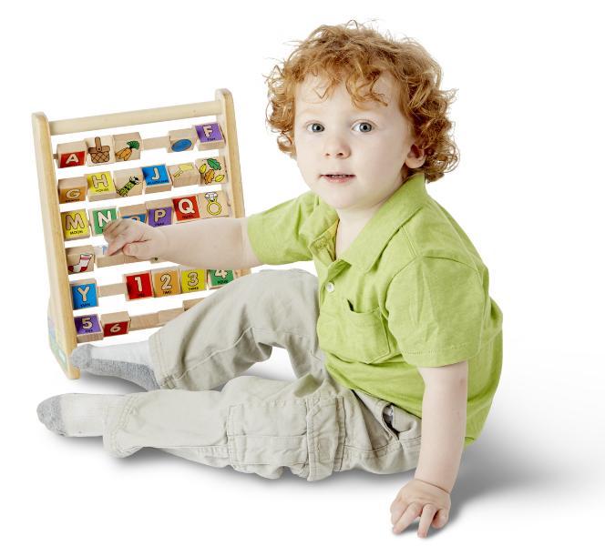 ของเล่นไม้ Melissa and doug ABC-123 Abacus