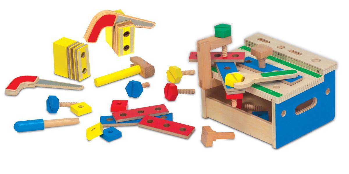 ชุดเครื่องมือช่างไม้ Mini Tool Bench