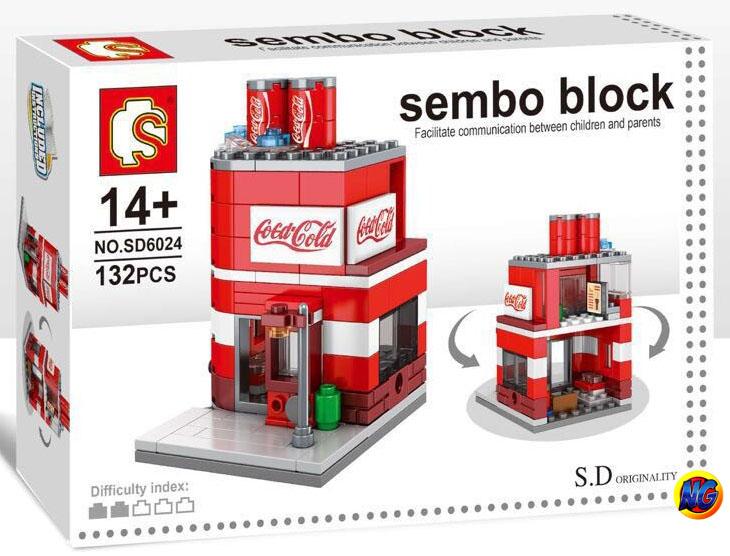 Sembo Block SD6024 ร้าน Coca-Cola