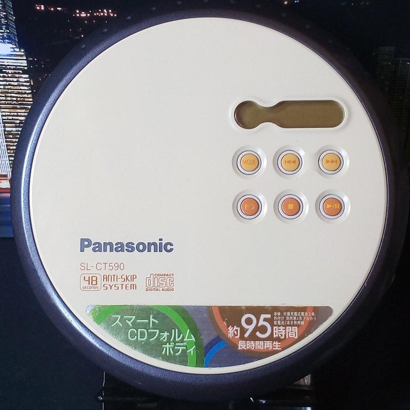 Panasonic SL-CT590 มือสอง