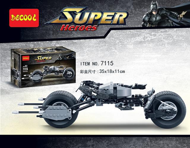 เลโก้จีน Decool 7116 ชุด The Bat - Pod