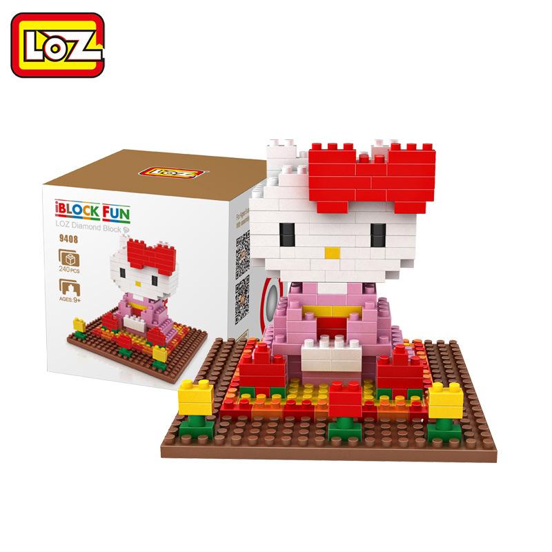 นาโนบล็อค Loz : Hello Kitty กิโมโน