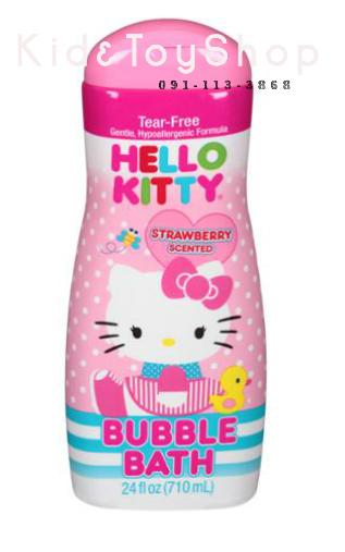 สบู่บับเบิ้ล Hello Kitty กลิ่น Strawberryขนาด 24 fl oz