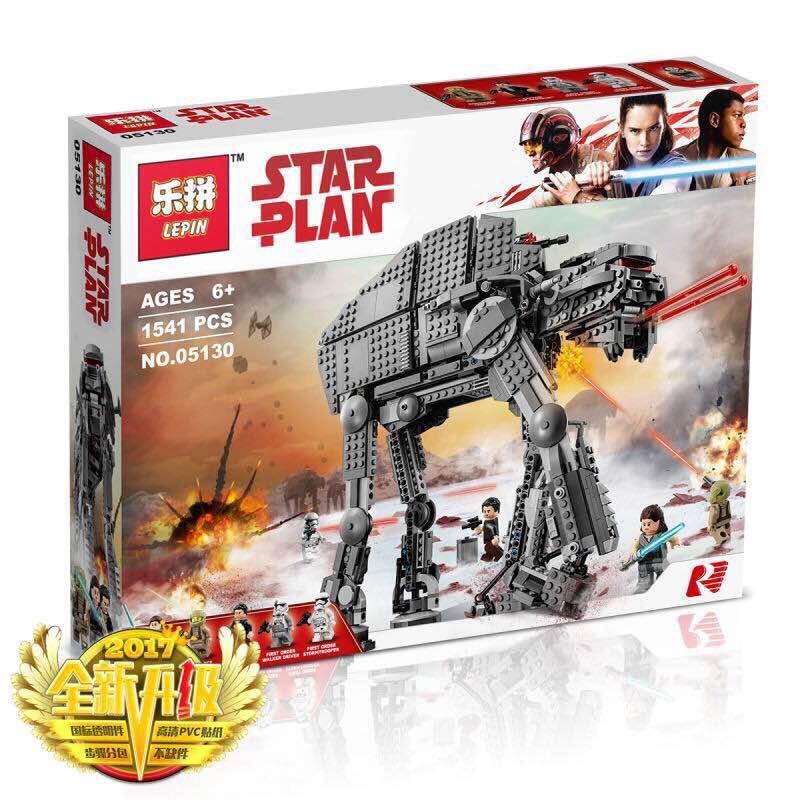 เลโก้จีน LEPIN 05130 Star Wars ชุด The Last Jedi First Order Heavy Assault Walker™