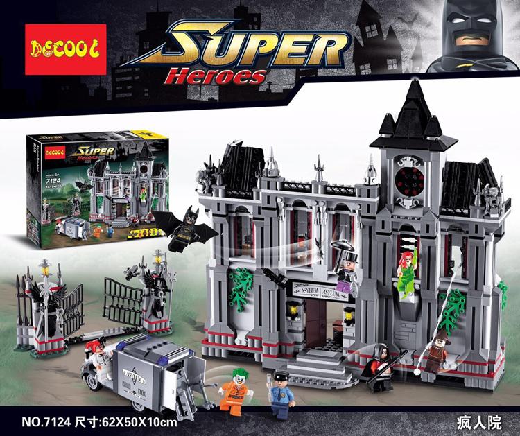 เลโก้จีน Decool 7124 ชุด Batman Arkham Asylum Breakout