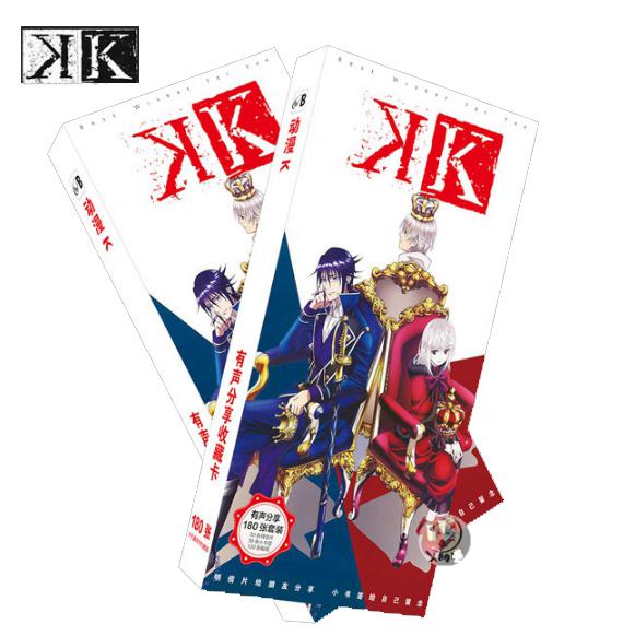 Postcard Anime : K Project (พร้อมส่ง)