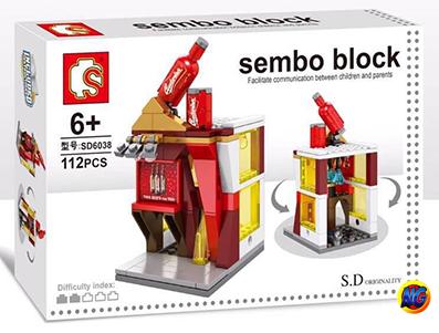 Sembo Block SD6038 : Budweiser Beer