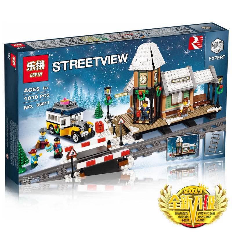 เลโก้จีน LEPIN 36011 ชุด Winter Village Station