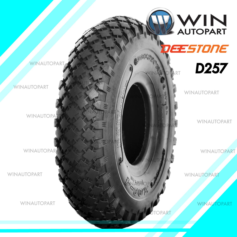 3.00-4 ยี่ห้อ DEESTONE รุ่น D257 TT ยางรถอุตสาหกรรม & รถเข็น