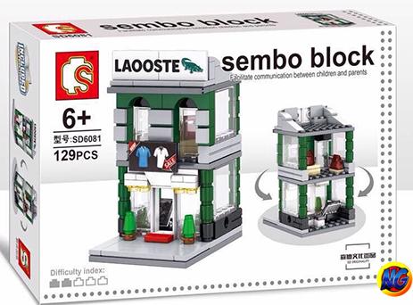 Sembo Block SD6081 : Lacoste