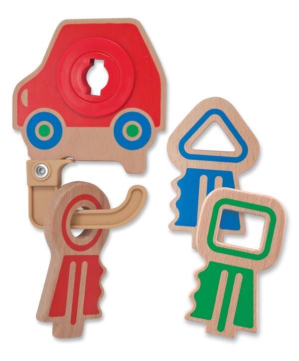 กุญแจมหาสนุก Melissa and doug Clacking Key Ring