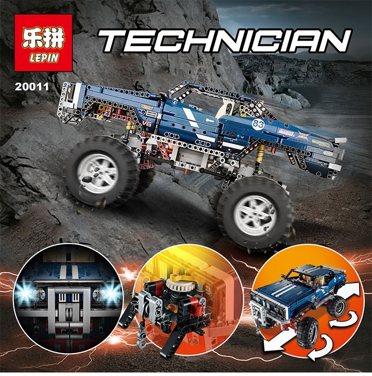 เลโก้จีน LEPIN 20011 ชุด 4x4 Crawler Exclusive Edition