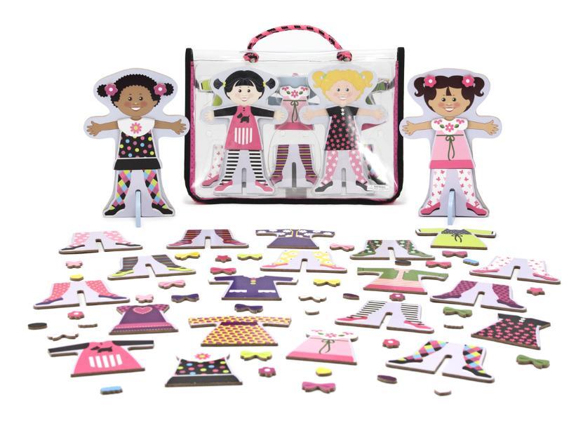 แต่งตัวตุ๊กตา Tops and Tights Magnetic Dress-Up