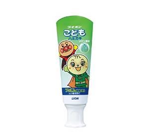 ยาสีฟันกลืนได้ Lion children toothpaste Anpanman melon flavor 40g