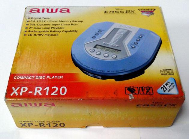 aiwa XP-R120 มือหนึ่ง