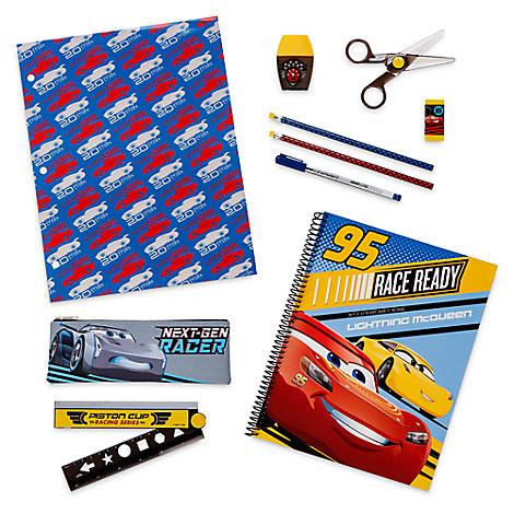 ชุดเครื่องเขียน Cars 3 Stationery Supply Kit