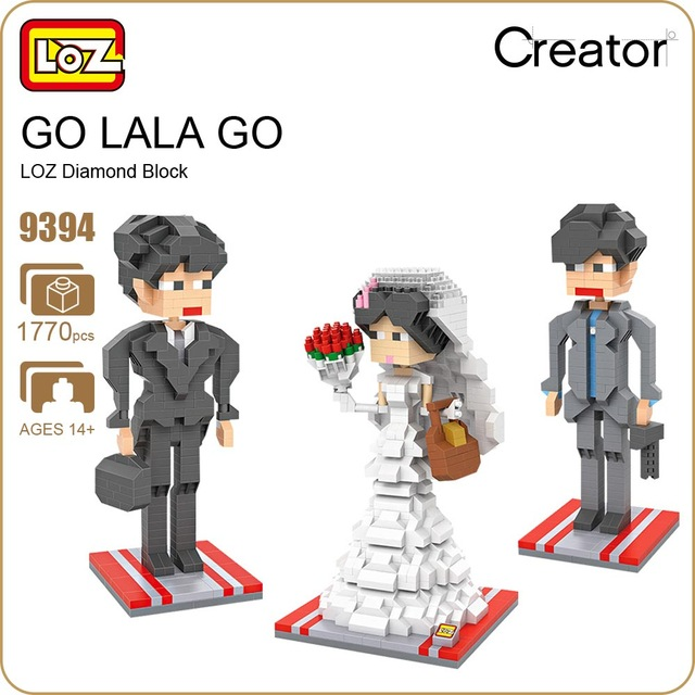 LOZ 9394 Nanoblock : Wedding Suite