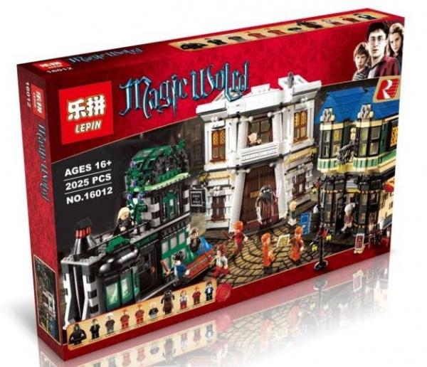 เลโก้จีน LEPIN 16012 Harry Potter ชุด Diagon Alley