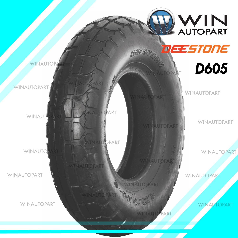 4.10/3.50-6 ยี่ห้อ DEESTONE รุ่น D605 TT ยางรถอุตสาหกรรม & รถเข็น