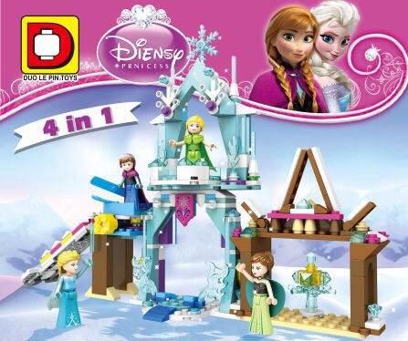 เลโก้เจ้าหญิง DLP 517 ชุดรวม Lego Frozen 4 IN 1
