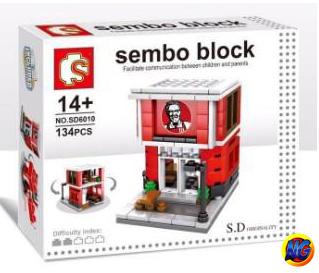 Sembo Block SD6010 ร้าน KFC