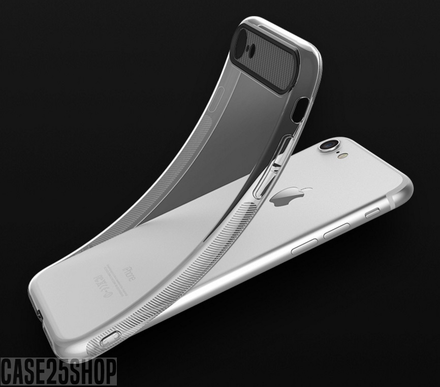 ROCK เคสซิลิโคน (เคส iPhone 7 Plus)
