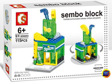 Sembo Block SD6053 : Sprite Drink