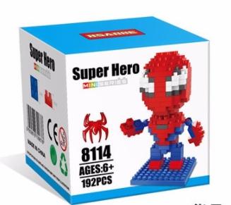 Nanoblock : Spider Man