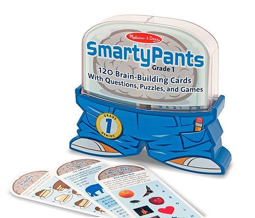 เกมปริศนาปัญหาเชาว์ สำหรับเด็กป. 1 Smarty Pants - 1st Grade Card Set