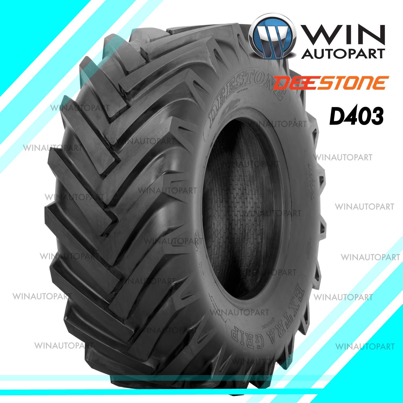 10.0/75-15.3 ยี่ห้อ DEESTONE รุ่น D403 TL ยางรถดั๊ม (เท) 8 PR