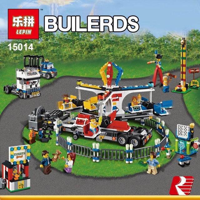 เลโก้จีน LEPIN 15014 ชุด Expert - Fairground Mixer