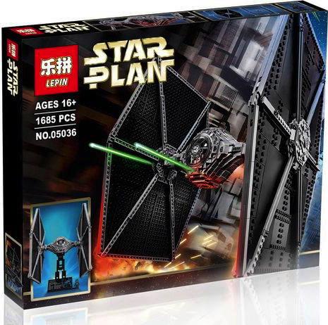 เลโก้จีน LEPIN 05036 ชุด LEGO Star Wars TIE Fighter