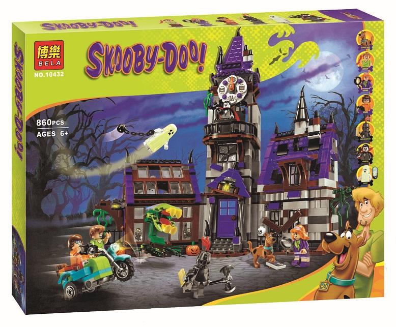 เลโก้จีน BELA 10432 ชุด Scooby-Doo - Mystery Mansion