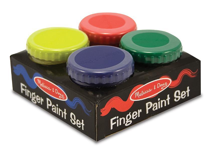สีน้ำปลอดสารพิษ Finger Paint Set