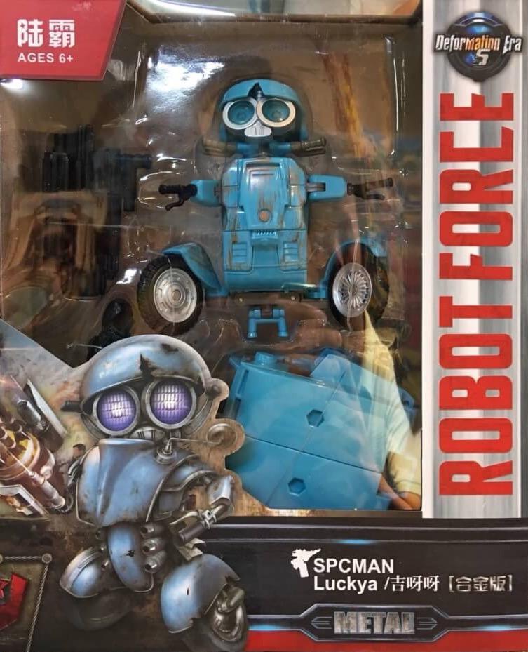 หุ่นแปลงร่างทรานฟอเมอร์ SPCMAN