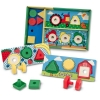 กระดานหรรษา Melissa and doug Sort, Match, Nuts & Bolts Board
