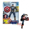 หุ่น Captain America Shield Storm Action Figure ขนาด 10 นิ้ว [Disney USA]