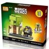 Loz Brick Headz Star Wars : Yoda & R2-Q5