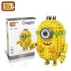 Loz 1202 Nanoblock : Minion Creator