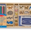 Melissa & Doug Animal Stamp Set ++ พร้อมส่ง++