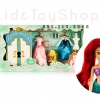 ชุดเซ็ทตุ๊กตาDisney Ariel Wardrobe Doll Play Set