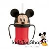 แก้วน้ำพร้อมหลอดนิ่ม Mickey Mouse Head Cup [ Disney USA ]